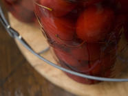 Maraschino Spiced & Pickled Crab Apples  found on PunkDomestics.com