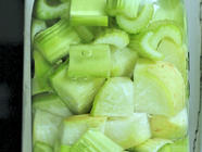 Spring Celery Radish Pickles found on PunkDomestics.com