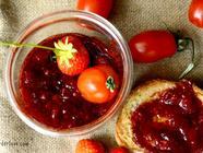 Strawberry and Tomato Jam found on PunkDomestics.com