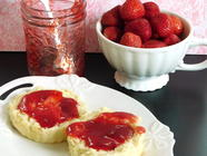 Small-Batch Strawberry Jam found on PunkDomestics.com
