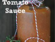 Sugar Free Tomato Sauce found on PunkDomestics.com