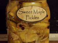 Sweet Maple Pickles found on PunkDomestics.com