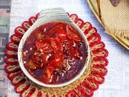 Sweet and Savory Tomato Chutney found on PunkDomestics.com