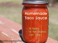 Taco Sauce found on PunkDomestics.com