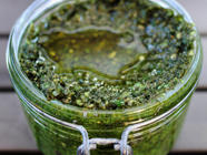 Toasted Pepita Pesto found on PunkDomestics.com