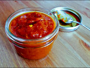 Not Quite Trader Joe's Tomato Chutney found on PunkDomestics.com