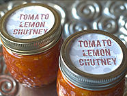 Rany&#039;s Tomato-Meyer Lemon Chutney
