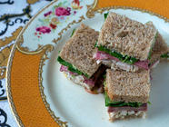 Corned Tongue: Queen Alexandra's Sandwiches
