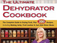 The Ultimate Dehydrator Cookbook found on PunkDomestics.com