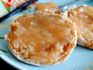 White Peach Jam with Honey & Vanilla Bean found on PunkDomestics.com