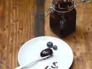 Blueberry and Chocolate Jam