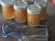 Summer Peach Jam with Vanilla Bean