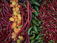 Preserving Hot Peppers with Almost No Work