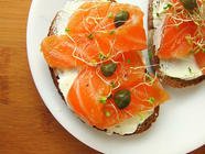 Homemade Cured Salmon (Lox) found on PunkDomestics.com