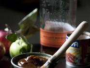 Apple Bourbon Chipotle BBQ Sauce found on PunkDomestics.com
