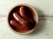 Cajun Andouille Sausages found on PunkDomestics.com