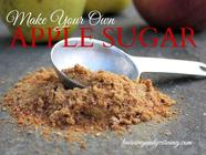 Make Your Own Apple Sugar found on PunkDomestics.com