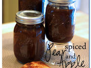 Spiced Apple & Pear Butter found on PunkDomestics.com