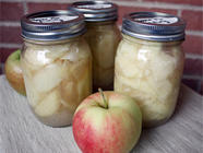 Canning Apples: Pie Filling and Apple Sauce found on PunkDomestics.com