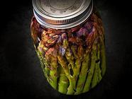 Pickled Asparagus found on PunkDomestics.com