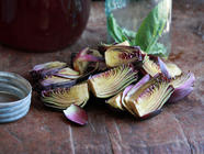 French Pickled Artichokes found on PunkDomestics.com