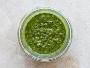 Basil-Mint Pesto found on PunkDomestics.com