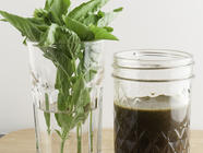 Basil Vinaigrette found on PunkDomestics.com