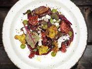 Whey Fermented Beet Carpaccio found on PunkDomestics.com