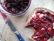 Blackberry, Lavender and Orange Blossom Jam found on PunkDomestics.com