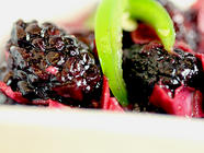 No Cook Blackberry Chutney
