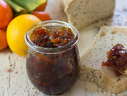 Quick Blood Orange Marmalade found on PunkDomestics.com