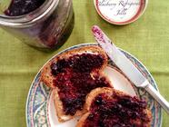 Fridge Tarragon Infused Lemon Blueberry Jam found on PunkDomestics.com