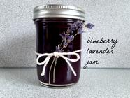 Blueberry Lavender Jam with Vanilla Bean found on PunkDomestics.com