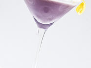 Creamy Blueberry Lemonade Martini