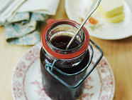 Blueberry Basil Jam, found on PunkDomestics.com