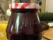 DIY Blueberry Liqueur found on PunkDomestics.com