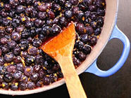 Blueberry, Lemon & Chile Jam
