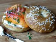 Smoked Salmon, Bagels, and Cream Cheese