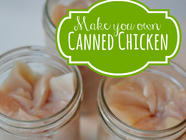 How to Can Chicken found on PunkDomestics.com