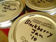 Blackberry Bourbon Jam found on PunkDomestics.com