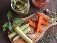 Carrot & Cucumber Quick Pickles found on PunkDomestics.com
