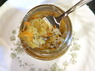Pickled Chayote Slaw found on PunkDomestics.com