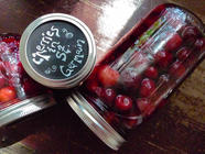 Cherries Preserved in St. Germain found on PunkDomestics.com