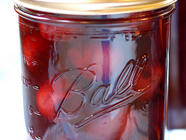 Homemade Maraschino Cherries found on PunkDomestics.com