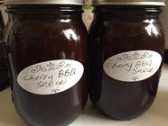 Cherry Barbecue Sauce  found on PunkDomestics.com