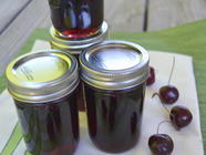 Sweet Cherry Ginger Jam found on PunkDomestics.com