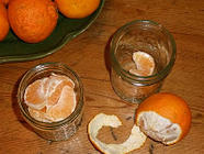 Clementines in Honey-Spice Syrup