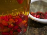 Wild Rose Hip Vinegar found on PunkDomestics.com