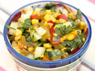 Sweet n' Spicy Corn Relish