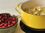 Small Batch Pear Cranberry Compote